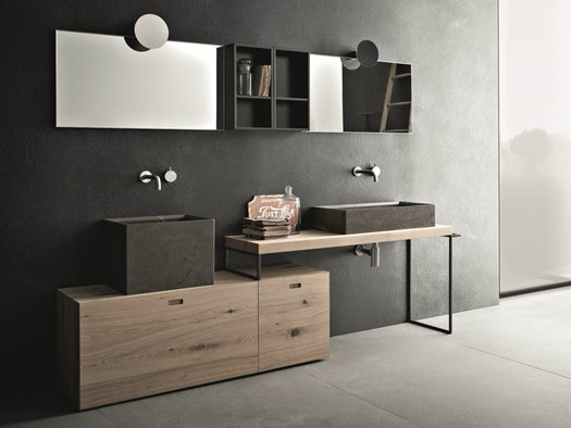 Idee bagni originali idee bagno con lavatrice design - Arredo bagno idee originali ...
